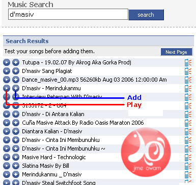 search lagu