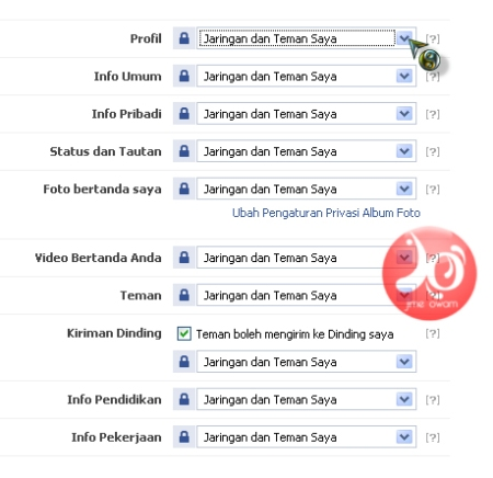 pengaturan privasi akun facebook 1