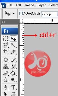 ruler (ctrl+r)