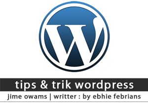 tips & trik wordpress - logo wordpress